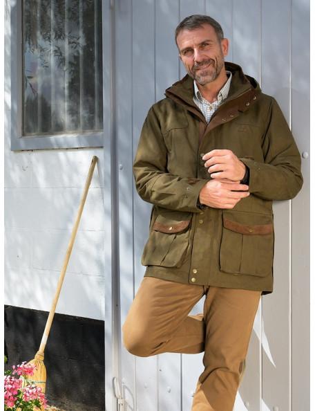 Oakwood robust country outdoor herrejakke