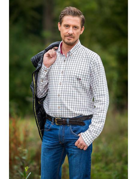 Berkley stilfuld skjorte med store tern.
