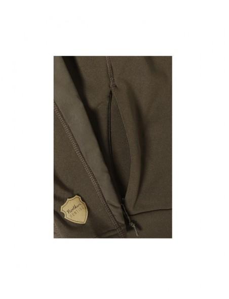 Hela fleece jakke fra Northern Hunting til jagt og outdoor med praktiske lommer