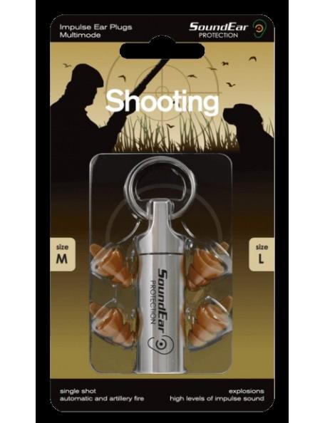 Shooting ørepropper fra Sound Ear Protection til jagt og skudtræning