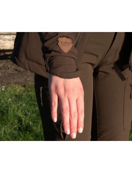 Frigga Iduna jakke med ærmer der holder dig varm fra Northern Hunting til nyjægere og outdoor.