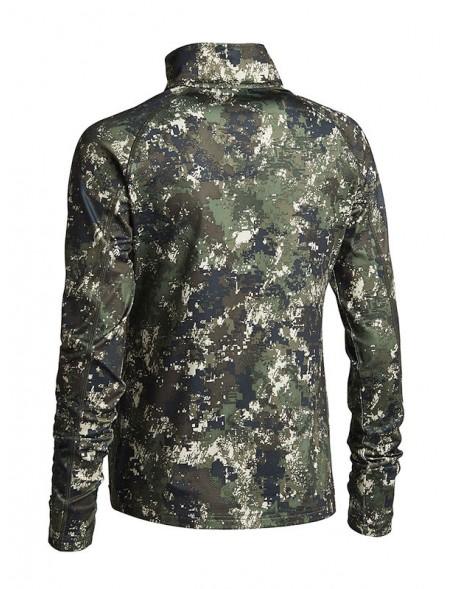 Fleece trøje Embla i camouflage til riffeljagt og buejagt fra Northern Hunting