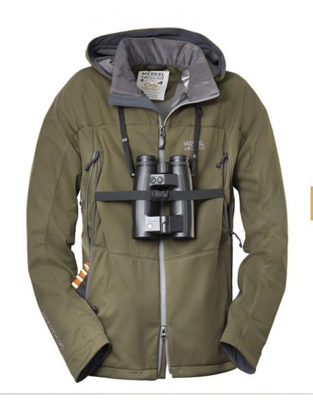 Palearctic 365 jakke fra Merkel Gear med kikkert