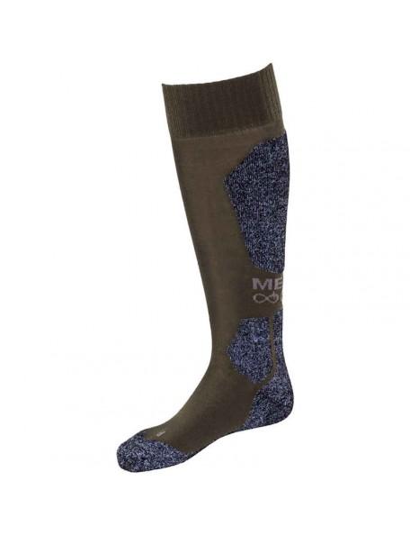 Long merino wool socks