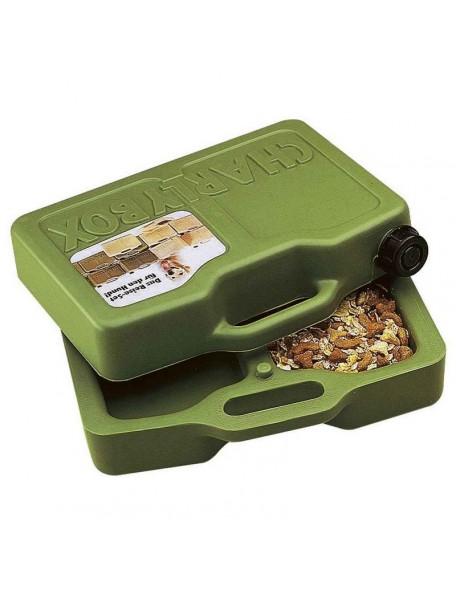 Portable dog food box