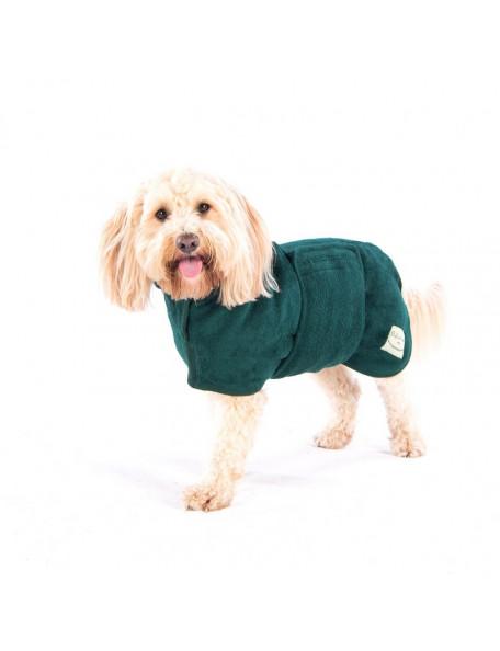 Drying coat grøn - Classic – Hurtig tørring af dine våde hund!