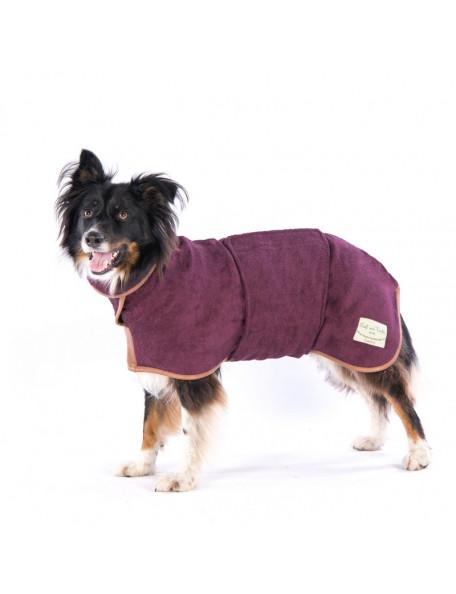 Drying coat - Country bordeaux – Hurtig tørring af dine våde hund!