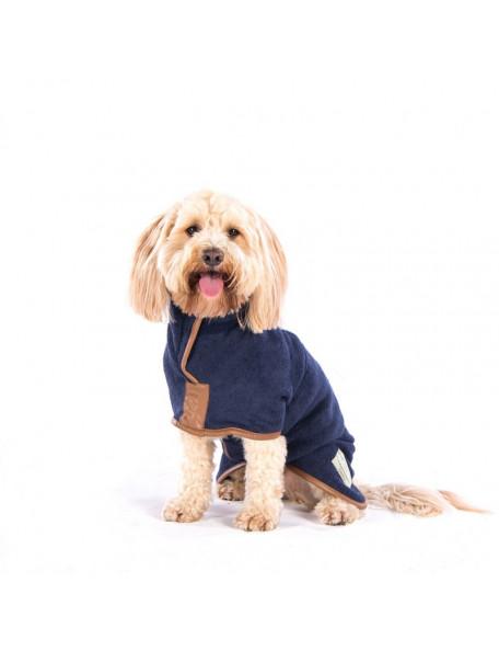 Drying coat - Country blå – Hurtig tørring af dine våde hund!