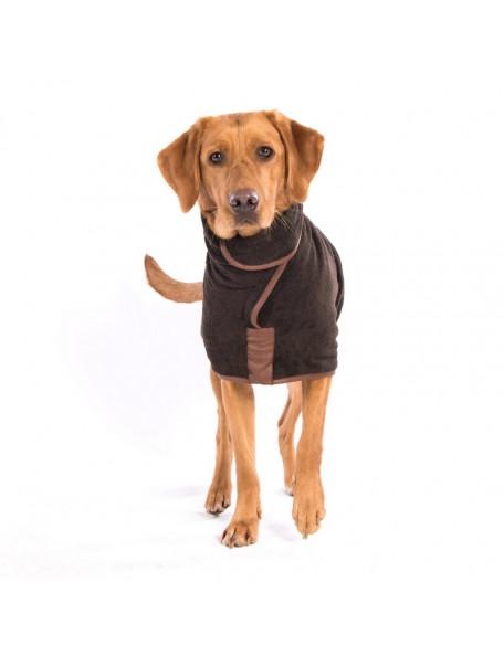 Drying coat - Country brun – Hurtig tørring af dine våde hund!