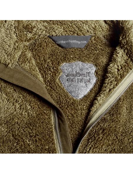 Hildur langhåret anorak fleece til kvinder fra Northern Hunting