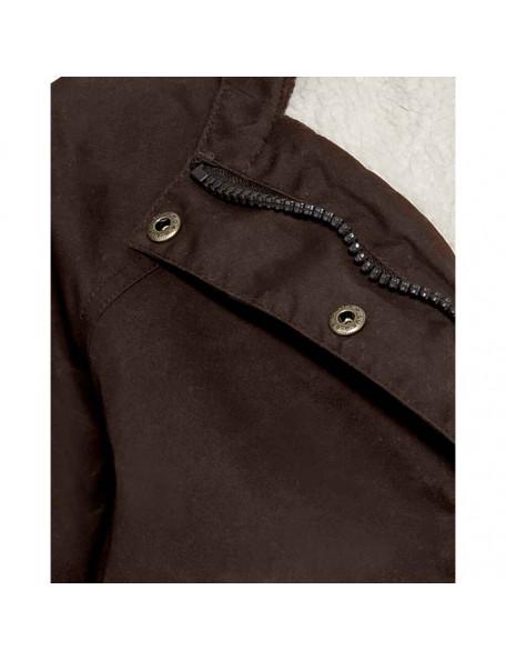 Parka jakke PS5000 med fiberpels fra Parforce til kvinder med mange detaljer