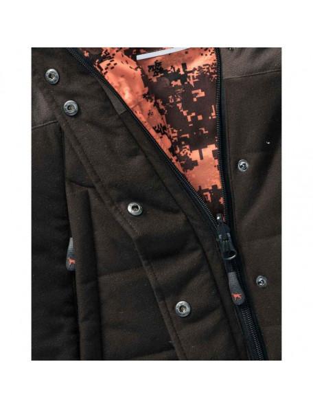 Reversible winter hunting jacket for ladies