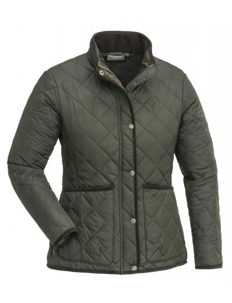 Pinewood quiltet jakke Yorkshire i grøn