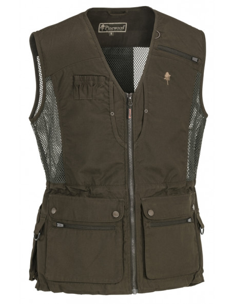 Brun Pinewood hundefører vest Dog Sports Light