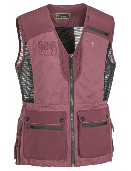 Pink Pinewood hundefører vest Dog Sports Light
