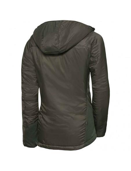 Smart termo hoody jakke til kvinder