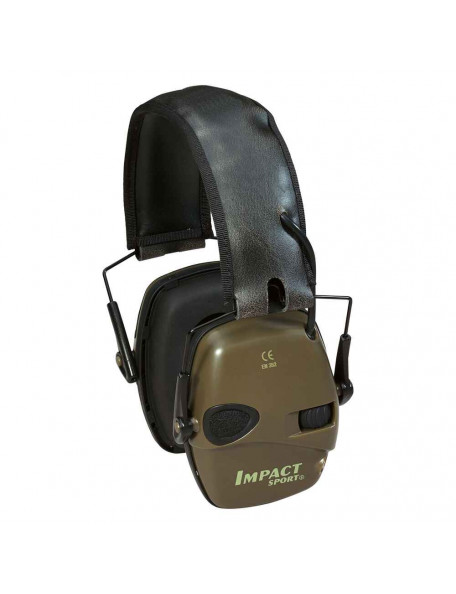 Impact sport electronic hearing protection