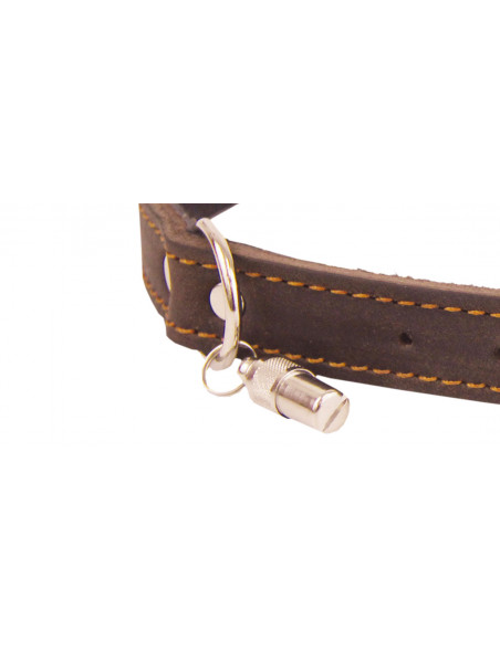 Dog collars made of quality leather