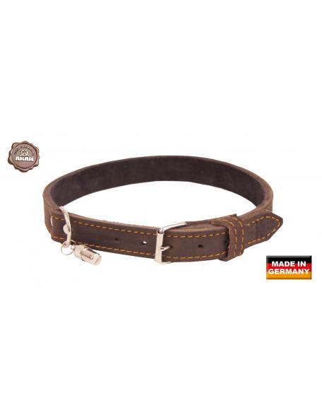 Hundehalsbånd udført i kvalitetslæder fra AKAH