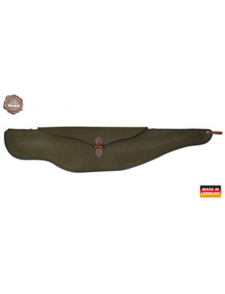 Silent rifle case for stalking hunting