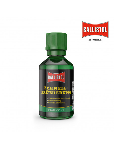 Ballistol hurtig brunering