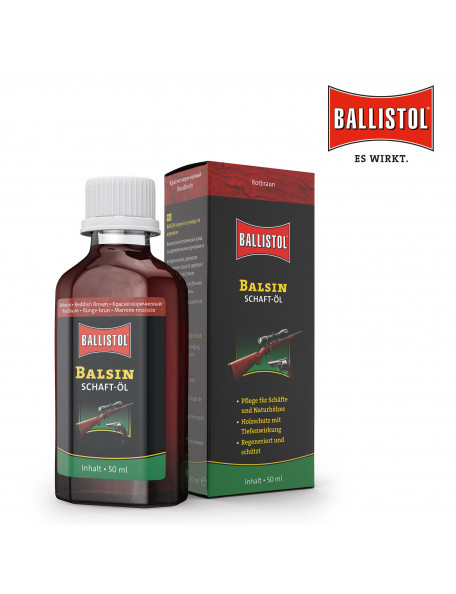 Ballistol Balsin gun stock oil Hazelnut Brown