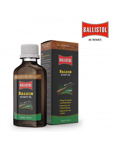 Ballistol Balsin skæfteolie mørk brunt