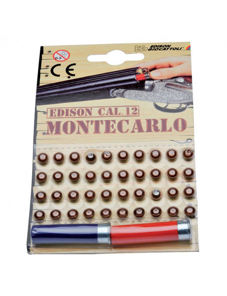 Children's ammunition to the shotgun Monte Carlo