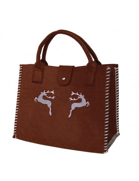 Bag with beautiful deer motif