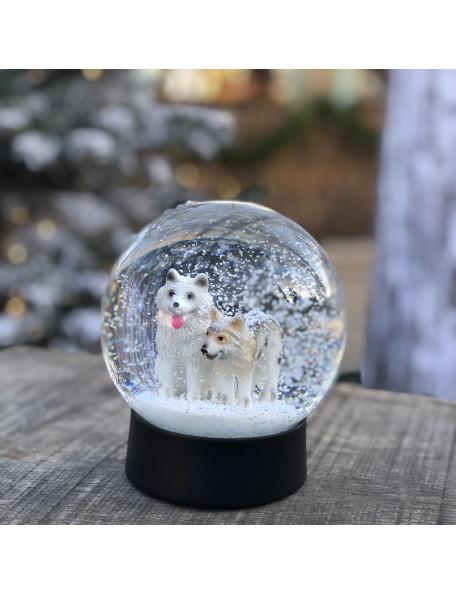 Snow globe with dogs - OLGA & ASLAN