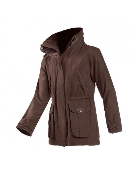 Klassisk country look jakke Ascot fra Baleno til hele året brun