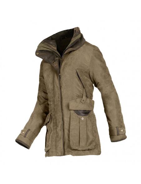 Klassisk country look jakke Ascot fra Baleno til hele året khaki
