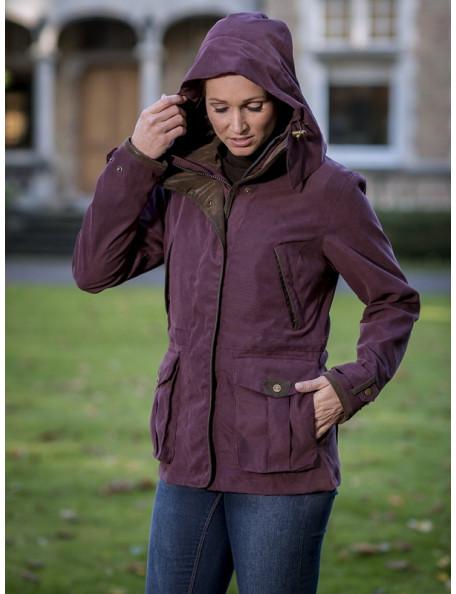 Klassisk country look jakke Ascot fra Baleno til hele året lilla