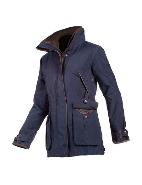 Klassisk country look jakke Ascot fra Baleno til hele året marineblå
