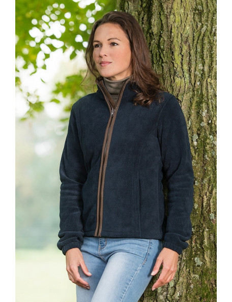 Stylish and classic fleece jacket for women - Sarah