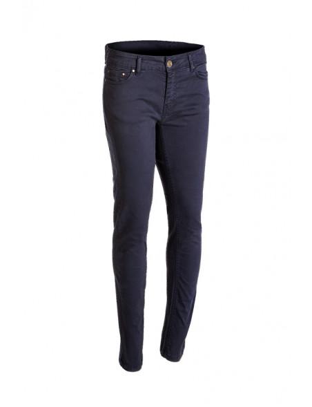 Smarte Versailles bukser med stretch fra Baleno i marineblå