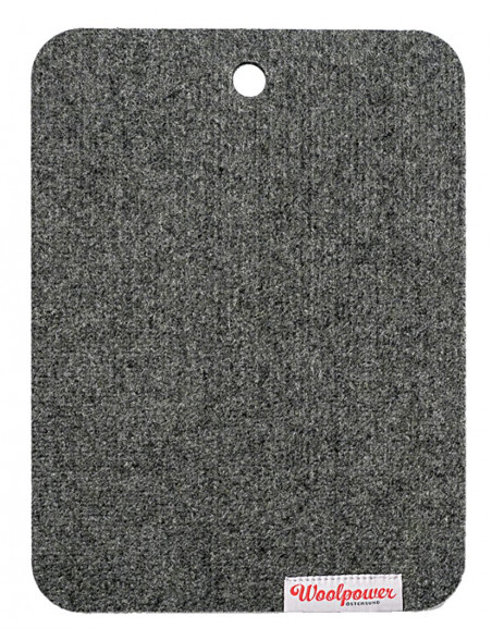 Seat mat in 100% recycled merino wool - Woolpower