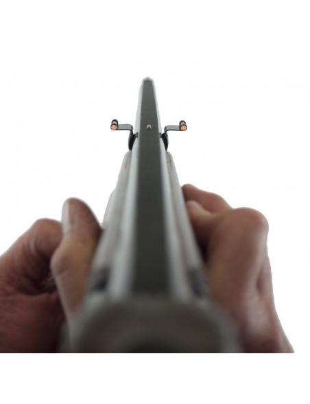 Haglgevær sigte til den nye og uerfarne jæger