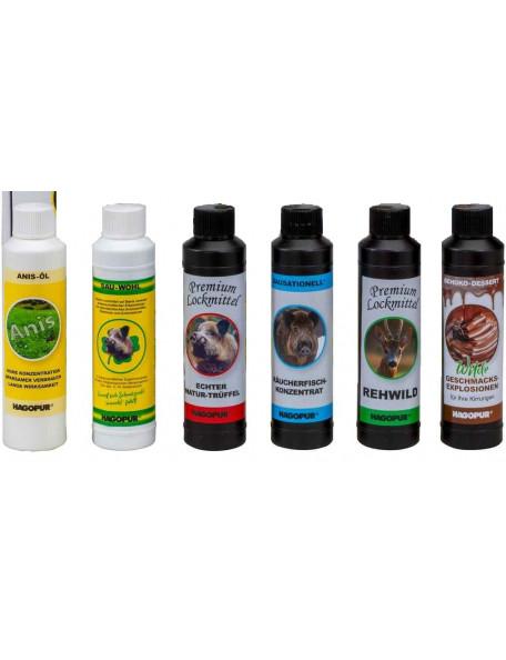 Lokkemiddel til vildsvin, rådyr og andet hjortevildt