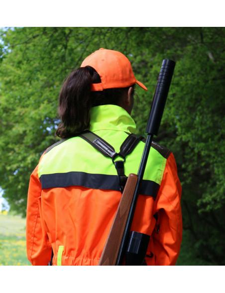 Geværrem til at bære riffel på ryggen