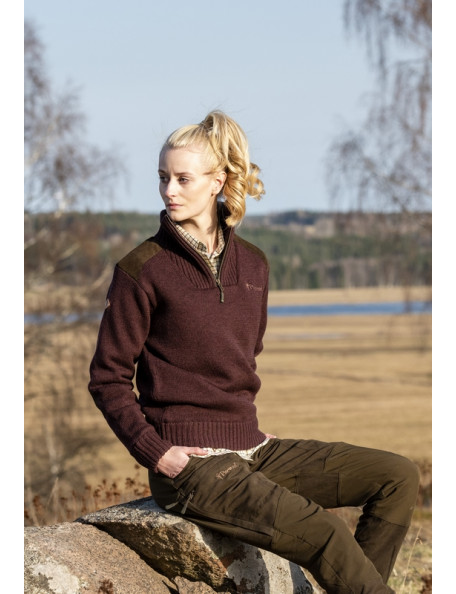 Pinewood women's sweater for hunting - Hurricane