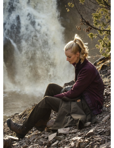 Pinewood outdoor Pants Caribou TC with tight fit for women