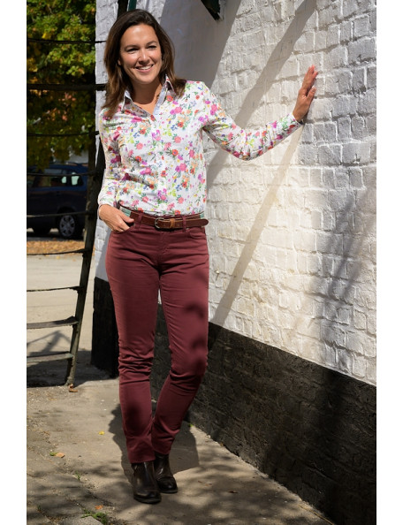 Smart casual lady pants with stretch - Versailles from Baleno