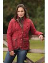 Fashionable quilted nubuck women's jacket - Hepburn