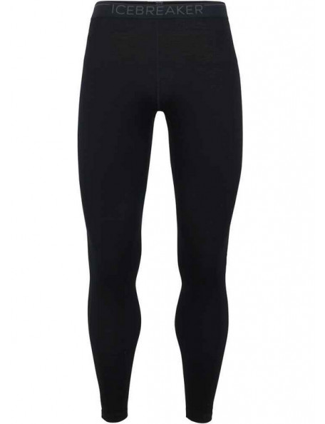 Black merino women's leggings from Icebreaker