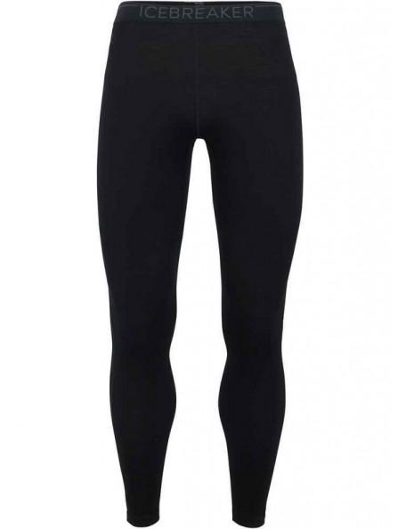Sorte merino leggins til kvinder fra Icebreaker