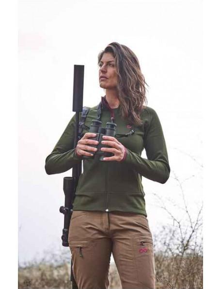 Mellemlags fleece jakke Tundra fra Merkel Gear til riffeljagt