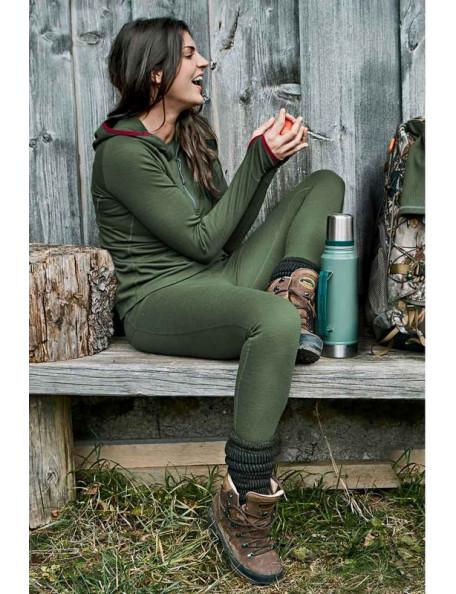 Merino wool leggings for women