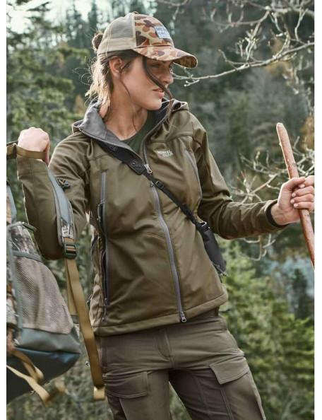 Utomhus- och jaktjacka Palearctic 365 från Merkel Gear för kvinnor