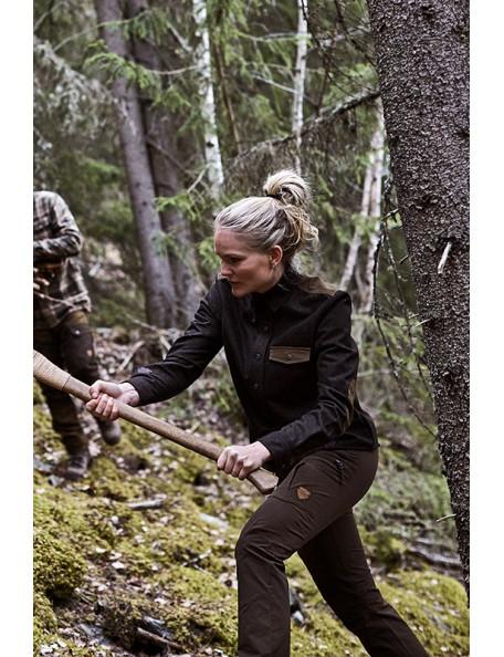 Outdoor shirt in raw look for women - Røskva